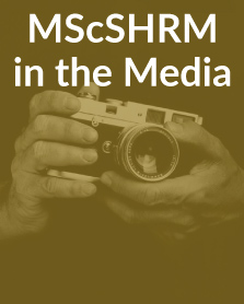MScSHRM In The Media